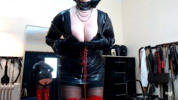 Mistress Breast Worship Tease and Denial POV
