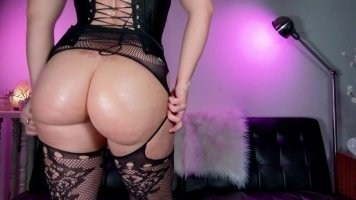 Ass Worship + Leather Gloves : Your Dom